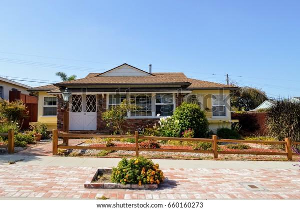 Modern Homes Estates Westside Los Angeles Stock Photo (Edit Now ...
