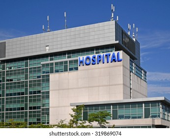 modern hospital style building