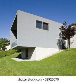 Images Photos Et Images Vectorielles De Stock De Facade Maison Moderne Shutterstock
