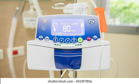 Modern Infusion pump for IV line