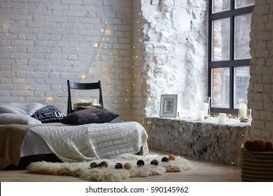 modern interior with bad