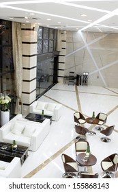 Modern interior design environment