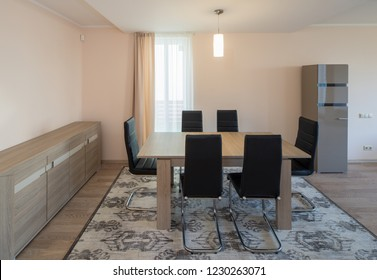 Modern Interior design, room in the house.