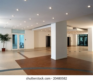 modern interior of a office