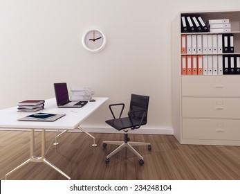 Modern interior office