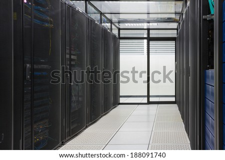 modern interior server room super computer stock photo edit now