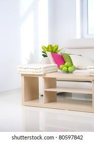 Modern Interior.Living Room