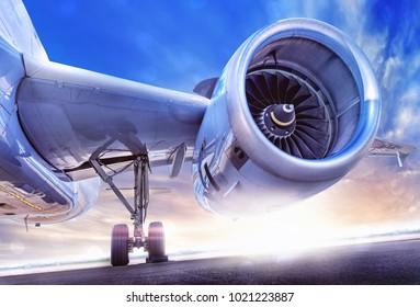 modern jet engine