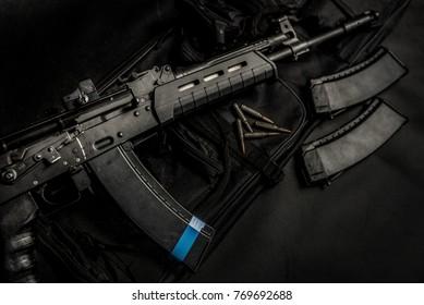 Modern Kalashnikov's replica