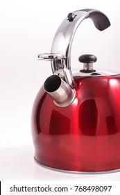 Modern kettle isolated