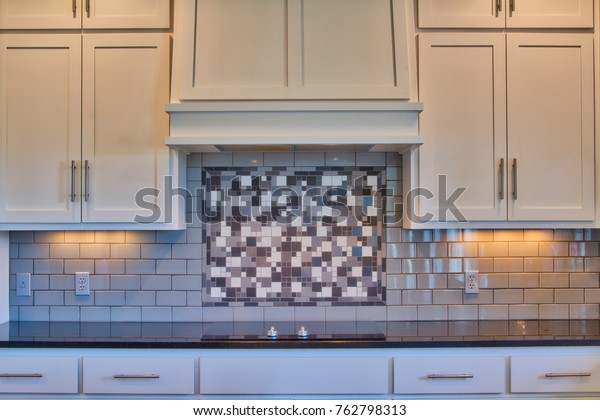 Cute Room Decor Ideas, Modern Kitchen Cooktop Black Granite Counter Stock Photo Edit Now 762798313