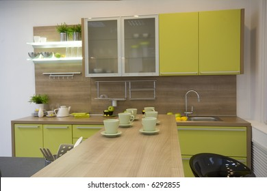 the modern kitchen interior design photo