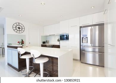 Modern kitchen in luxury house