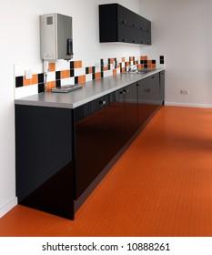 Modern kitchen in office enviroment