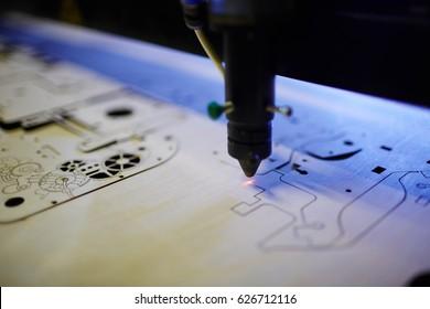 Modern laser technology for engraving details