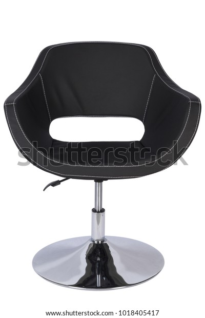 Amazing Modern Leather Chair Isolated Bar Furniture Stock Photo Gmtry Best Dining Table And Chair Ideas Images Gmtryco