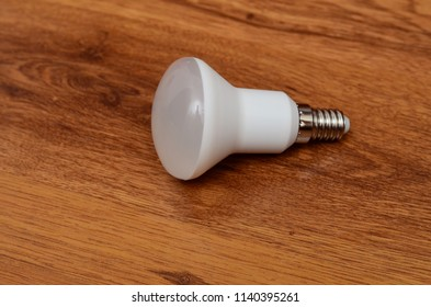 Modern LED lamp isolated 3d, ECO energy concept, close up