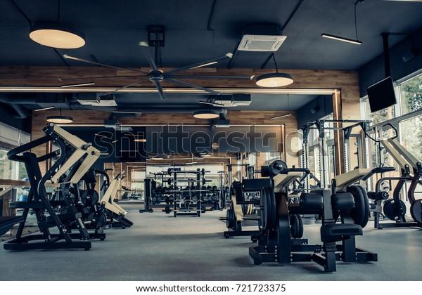 Photo De Stock De Salle De Fitness Moderne Et Les Modifier