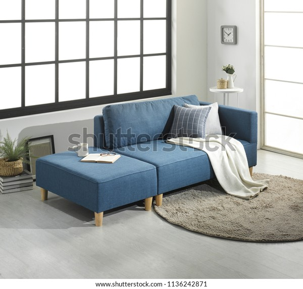 Modern Living Room Sofa Furniture Japanese Stock Photo (Edit ...