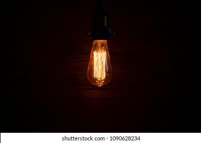 Modern loft light bulb