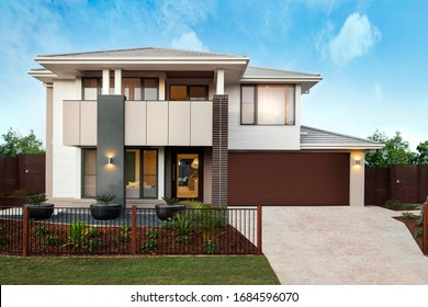 Modern and luxurious two storey house
