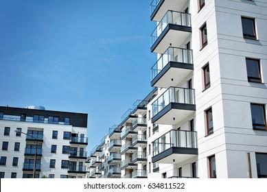 Modern, Luxury Apartment Building