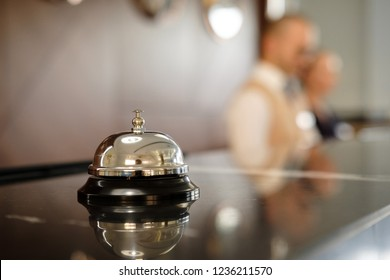 Astonishing Hotel Desk Bell Images Stock Photos Vectors Shutterstock Home Interior And Landscaping Oversignezvosmurscom