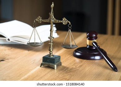Modern luxury lawyers office. Law concept image.