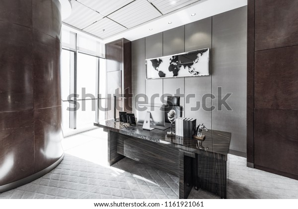 Modern Luxury Offices Stock Photo Edit Now 1161921061