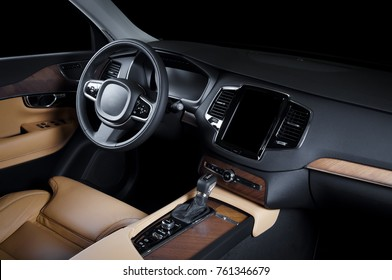 Luxury Car Interior Images Stock Photos Vectors Shutterstock