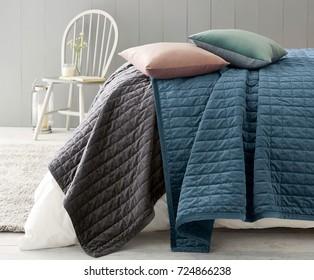 Bedroom Quilts Images, Stock Photos & Vectors | Shutterstock