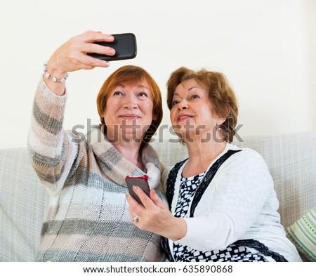 Modern mature women