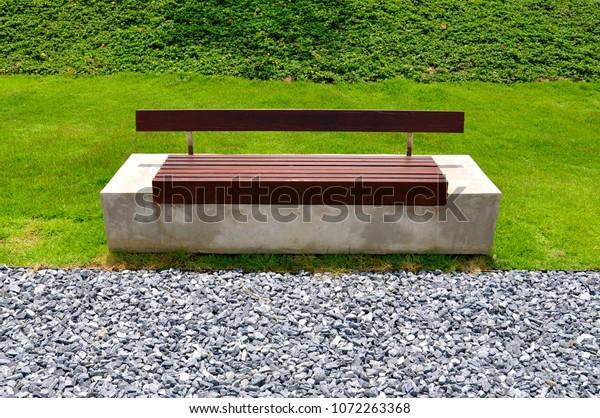 Astonishing Modern Minimalist Park Bench Made Concrete Stock Photo Edit Beatyapartments Chair Design Images Beatyapartmentscom