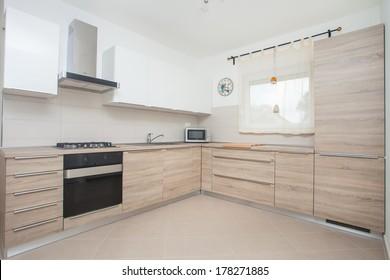 modern minimalistic kitchen