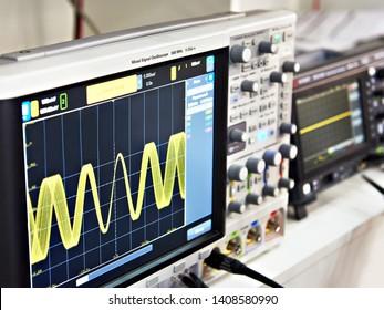 Oscilloscope Images, Stock Photos & Vectors | Shutterstock