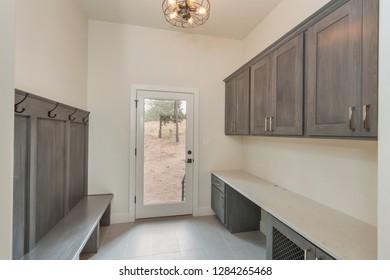 Modern Mud Room