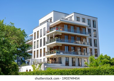 Modern multi-family apartment house in Berlin, Germany