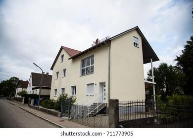 modern multi-family house in germany