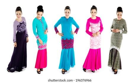 Modern muslim woman fashion