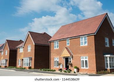 Modern new houses