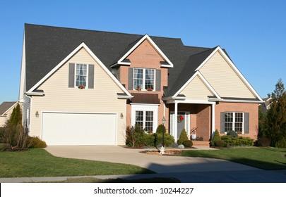 Modern new housing