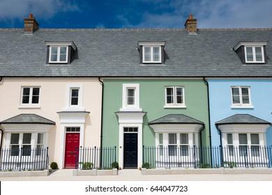 Modern new housing , England
