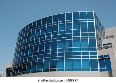 Modern Office - Blue Glass