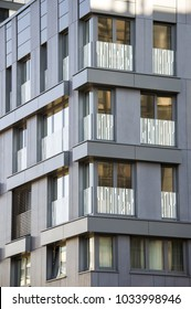 Modern office building, business center with miror glass windows