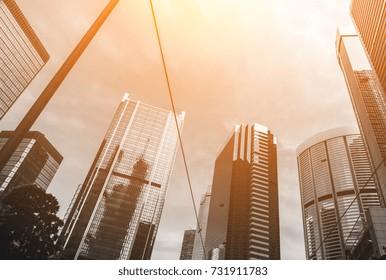 office buildings paris business district la stock photo edit now