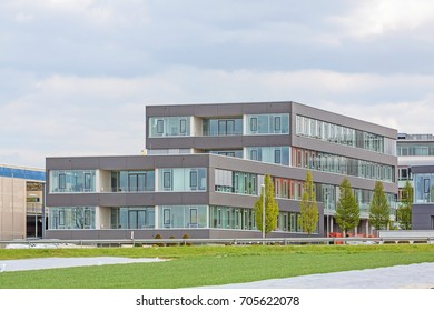 modern office building - exterior view