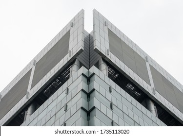 modern office building with glass windows
