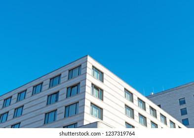 Modern office building. Photo taken in Berlin, Germany.
