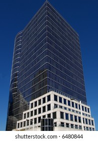 modern office building in Vancouver banking district