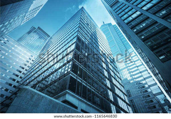 Modern Office Buildings City Stock Photo (Edit Now) 1165646830